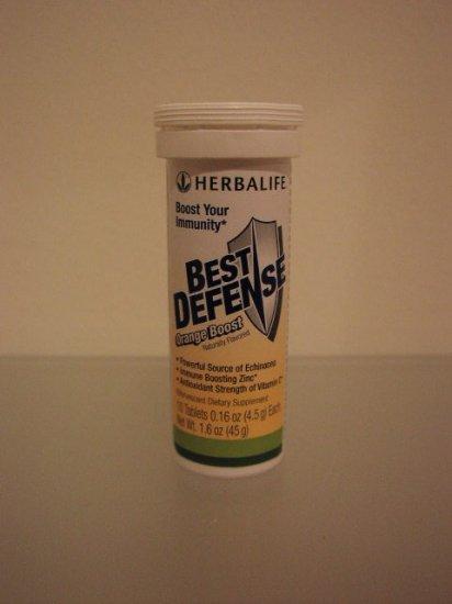 Herbalife Best Defense Immunity 3-pack Orange Boost