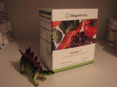 Herbalife Garden 7 Seven Garden7 ShapeWorks Box 30 packets 2004