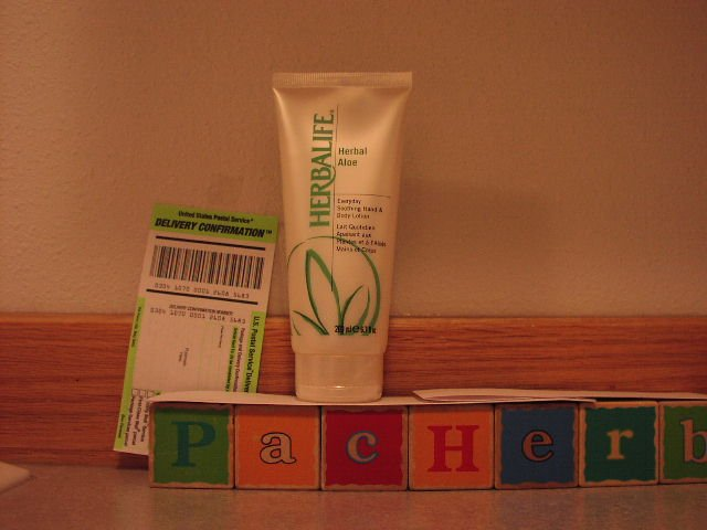 Herbalife Herbal Aloe Everyday Hand & Body Lotion 03/2010