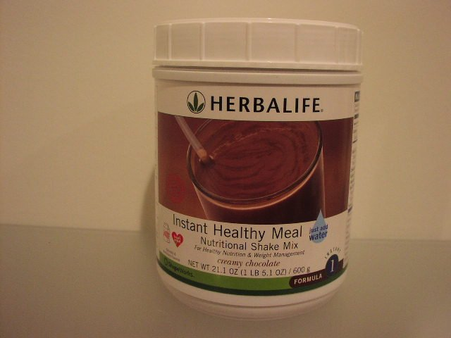 Herbalife F1 Instant Healthy Meal Shake Mix Cannister Creamy Chocolate 600g Formula 1 2007