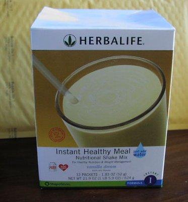 Herbalife F1 Instant Healthy Meal Shake Mix Box Vanilla Dream 624g Formula 1 ShapeWorks