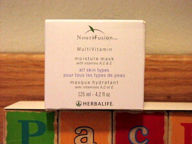 Herbalife NouriFusion MultiVitamin Moisture Mask 1/2013