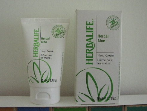 Herbalife Herbal Aloe Hand Cream Creme 2/2012