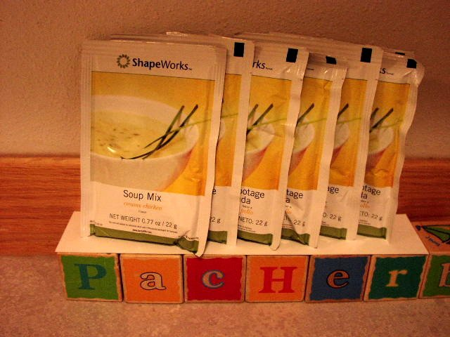 Herbalife Soup Mix Creamy Chicken 7 packets ShapeWorks 2007