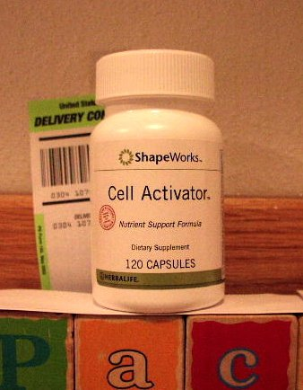 Herbalife Cell Activator 120 Capsules ShapeWorks 2006