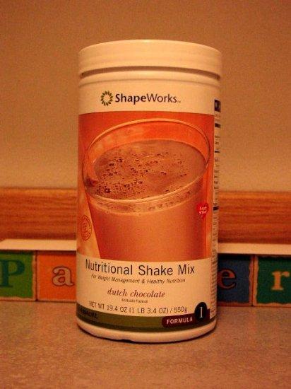 Herbalife F1 Nutritional Shake Mix Dutch Chocolate 550g Formula 1 ShapeWorks 2004