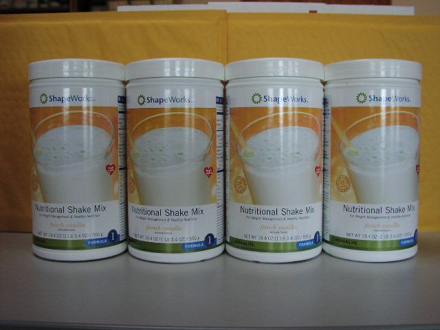 Herbalife F1 Nutritional Shake Mix 4-pack French Vanilla 550g Formula 1 ShapeWorks