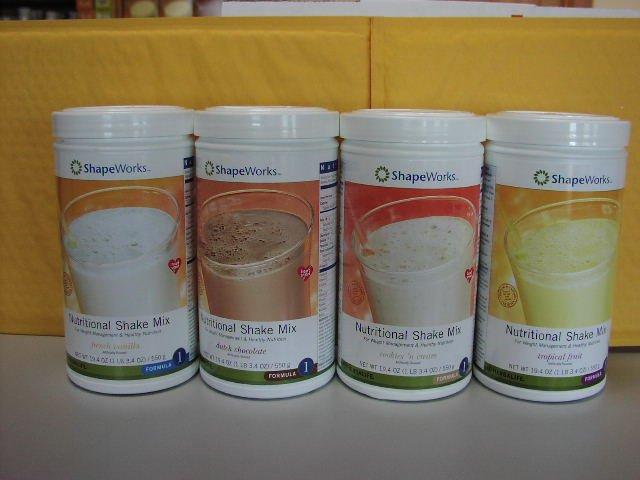 Herbalife F1 Nutritional Shake Mix 4-pack Combo VCNF 550g Formula 1 ShapeWorks