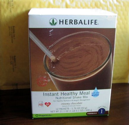 Herbalife F1 Instant Healthy Meal Shake Mix 3-pack Box Creamy Chocolate 600g x3 Formula 1 ShapeWorks