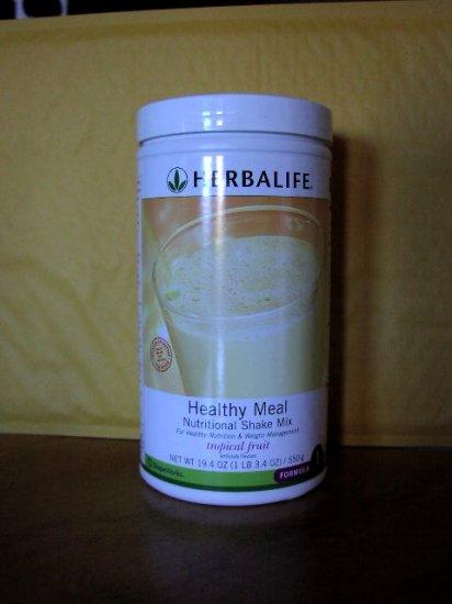 Herbalife F1 Nutritional Shake Mix 4-pack Tropical Fruit 550g Formula 1 ShapeWorks