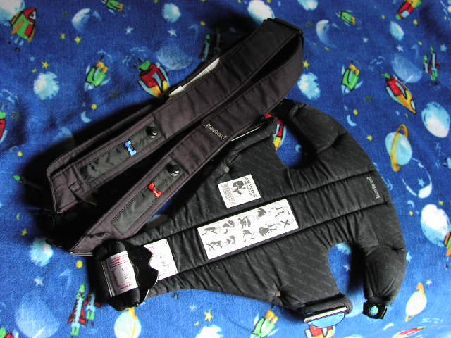 Baby Bjorn Infant Carrier w/ Extra Large XL Straps