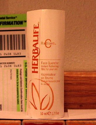 Herbalife Radiant C Face Quencher Mist 10/2011