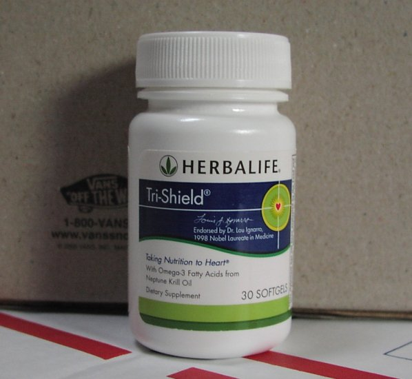 Herbalife Tri-Shield Neptune Krill Oil Dr Lou Ignarro Tri Shield TriShield Fresh exp 8/2016