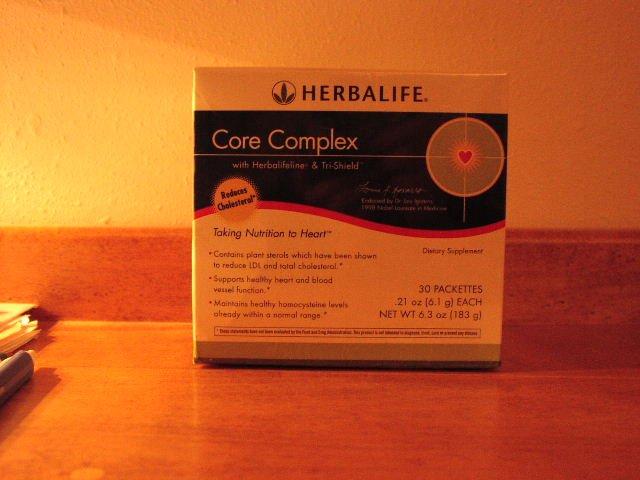 Herbalife Core Complex with Herbalifeline & Tri-Shield Tri Shield Box 2005