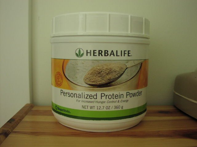 Herbalife Personalized Protein Powder ShapeWorks 2007