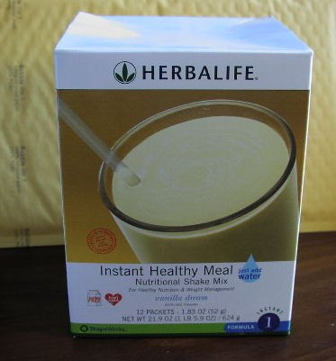 Herbalife F1 Instant Healthy Meal Shake Mix Box Vanilla Dream 624g Formula 1 ShapeWorks 2008