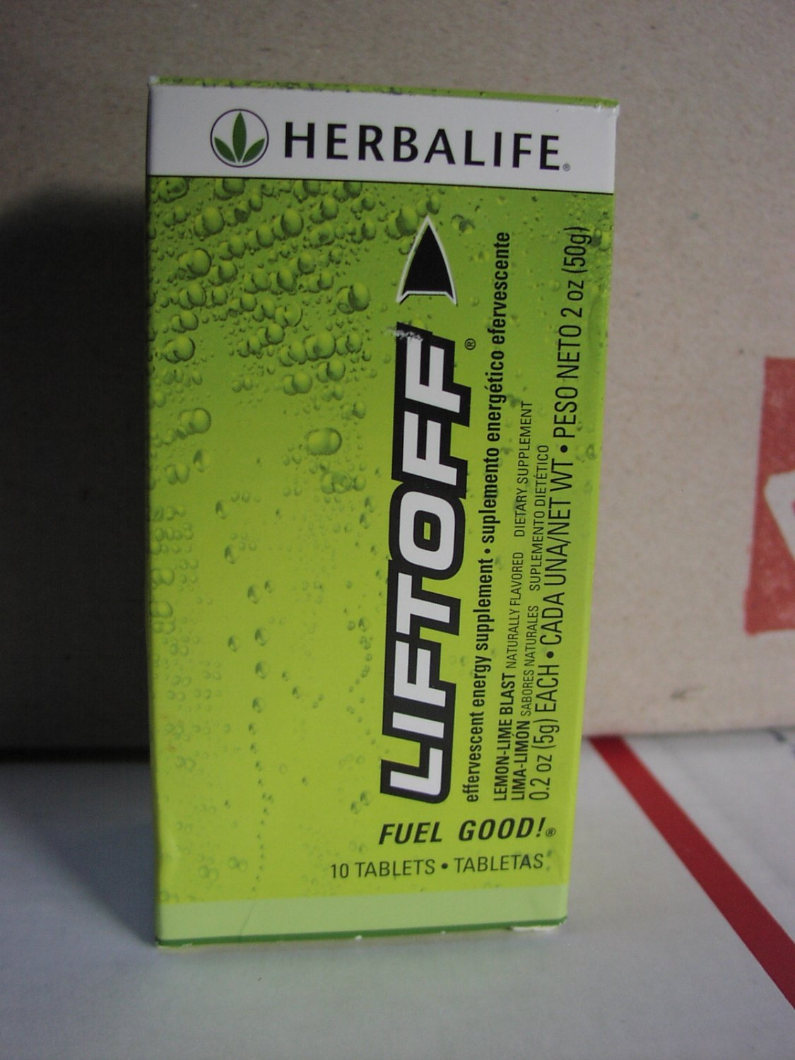 Herbalife LiftOff Lift Off Energy Drink Lemon-Lime Blast Fresh