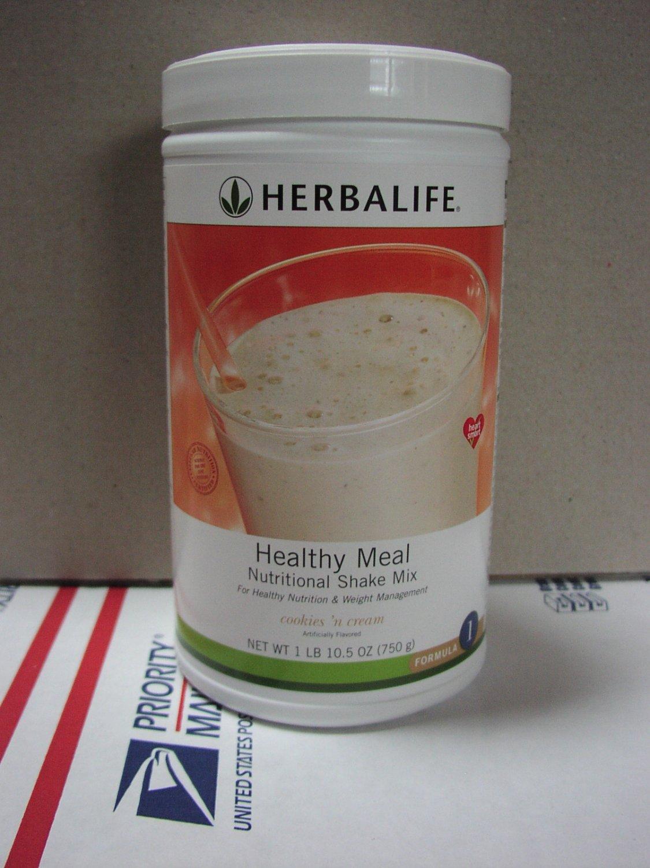 Herbalife F1 Nutritional Shake Mix Cookies 'N Cream 750g Formula 1 ShapeWorks Fresh