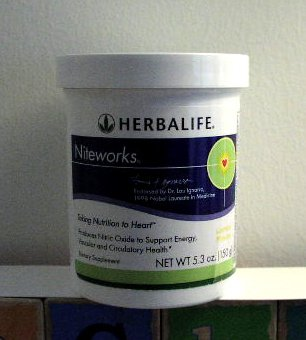 Herbalife Niteworks Cardio Supplement Lemon 150g 5.3oz 2008
