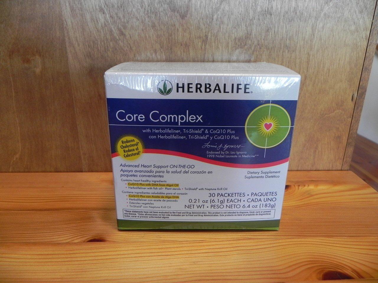 Herbalife Core Complex with Herbalifeline, Tri-Shield Tri Shield, & CoQ10 Plus Box 2011