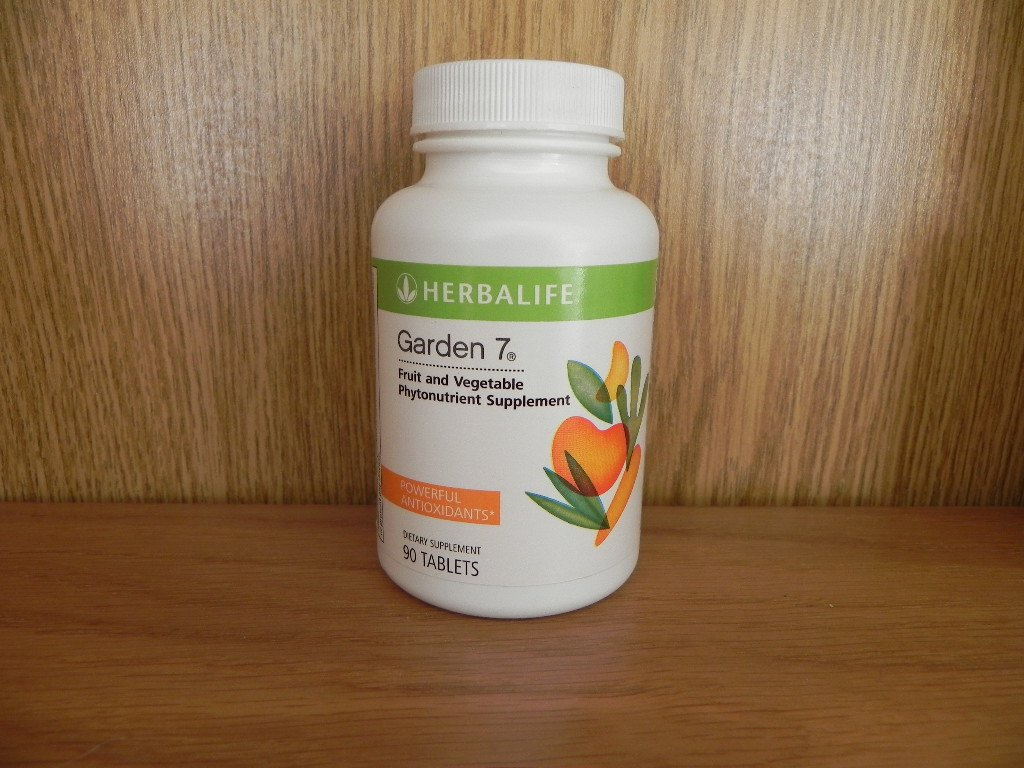 Herbalife Garden 7 Seven Garden7 Bottle 90 tablets Fresh