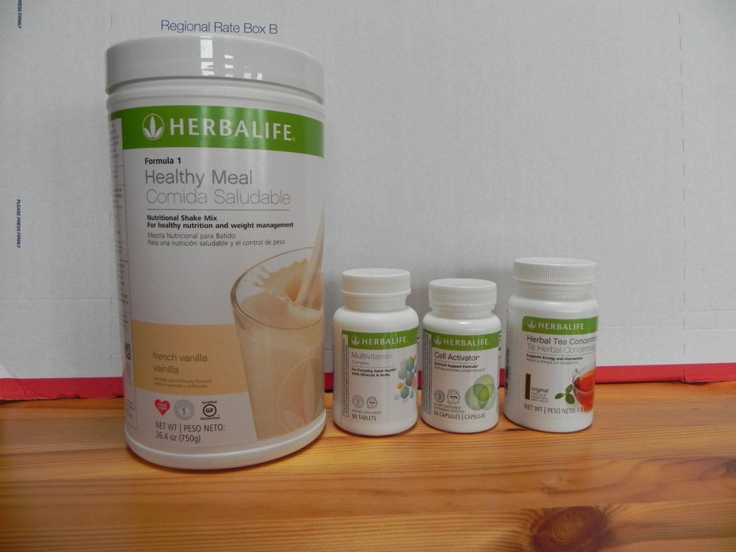 Herbalife Program QuickStart French Vanilla 750g Fresh
