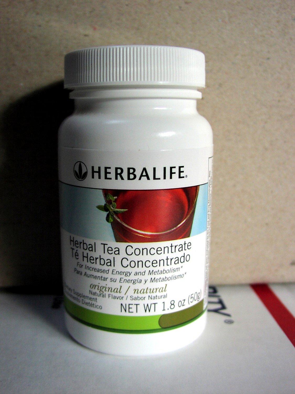 Herbalife Herbal Tea Concentrate 1.8oz 50g Original ShapeWorks 2010