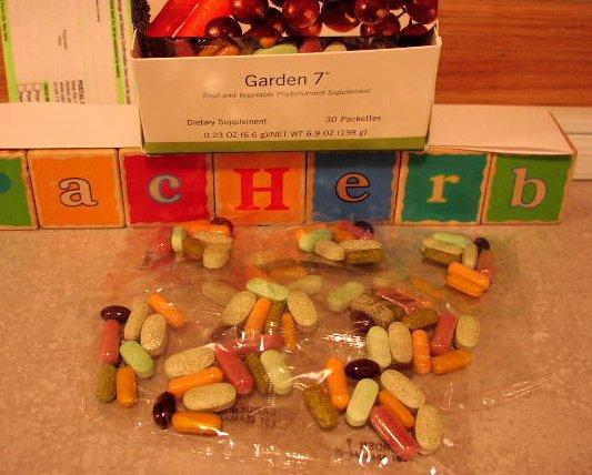 Herbalife Garden 7 Seven Garden7 ShapeWorks 10 packets 2004