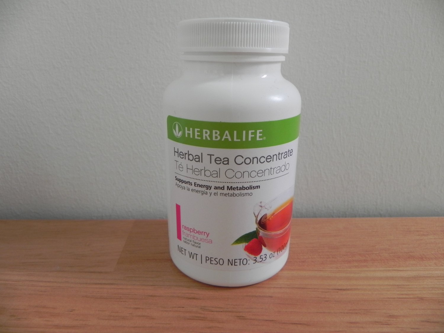 Herbalife Herbal Tea Concentrate 3.53oz 100g Raspberry Fresh exp 11/2016 or better