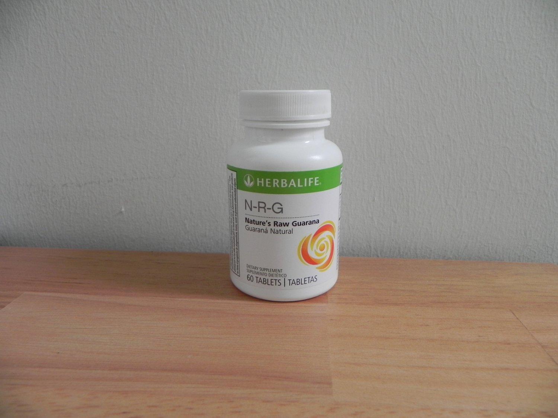 Herbalife NRG N-R-G Nature's Raw Guarana Tablets 2012