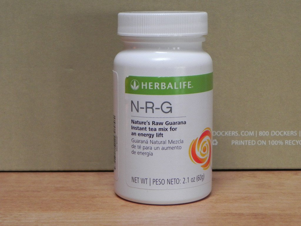 Herbalife NRG N-R-G Nature's Raw Guarana Tea 2011