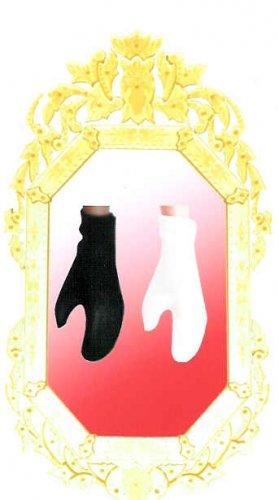 Doll Gloves SHORT Wrist Length BLACK 11.5 to 12 inch dolls CANDI