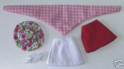 Doll Skirts Shoes Hat etc 11.5 to 12 inch Fashion Dolls CANDI