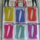 DOLL BOOTS 6 PACK Bright Colors 11.5 to 12 Inch fashion dolls
