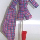 Doll Shortall Shoes Boots 11.5 to 12 inch Dolls Candi PLAID