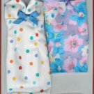 Doll Dress Set 11.5 to 12 inch Dolls 2 FLORAL SHEATHS and SHOES