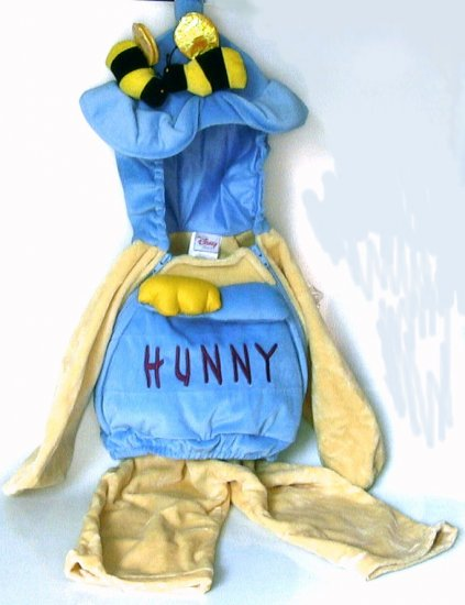 Disney Store Hunny Pot Pooh Costume 18-24 months 2T