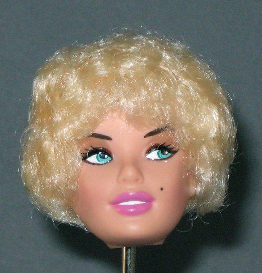 DOLL HEAD Vintage Blonde Bubble Cut 11.5 to 12 INCH fashion dolls Candi
