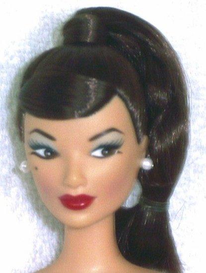Doll Head Vintage Asian Swirl 11.5 to 12 INCH fashion dolls Candi