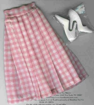 Doll Skirt and Shoes CANDI 16 fits Tyler Gene Alex
