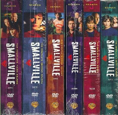 SMALLVILLE SEASONS 1-6