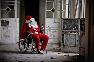 Drunk Santa - Greeting Card with Envelope - Limited Edition