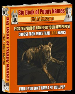 ***Big Book of Puppy names***