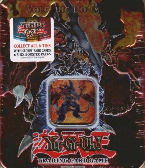 Yu-Gi-Oh Holiday Tin (Box) Volcanic Doomfire (2007)