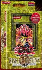 Yu-Gi-Oh Rise of Destiny SE Deck (3 packs + 1 variant cards)