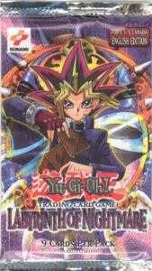 Yu-Gi-Oh Labyrinth of Nightmare Unlimited Booster Pack