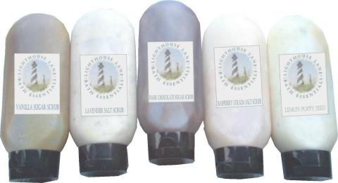 Lavender and Plumeria Salt Scrub