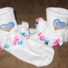 Heart Beaded Socks and  Scrunchy