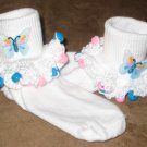 Butterflie Beaded Socks and  Scrunchy