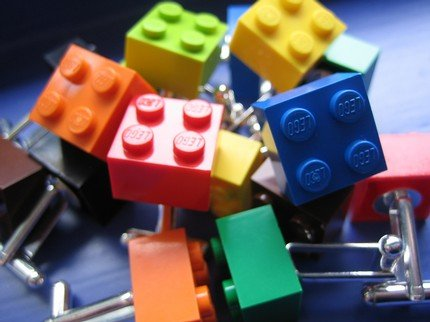Custom Lego Cufflinks